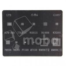 BGA трафарет G1057 ( Mi 6/Mi Mix 2 (M:1) MSM8998/PM899/PM8005/WCN3990/WOD9335/ACPM-7800 )
