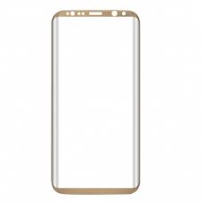 Защитное стекло полное Samsung Galaxy S8 Plus SM-G955F/ S9 Plus SM-G965F золотое