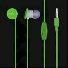 Гарнитура Meifu MF 095-MIC (зеленый/коробка)
