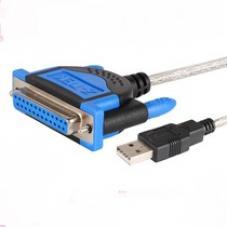 Переходник [Z-TEK] USB - 25 PUT (black)