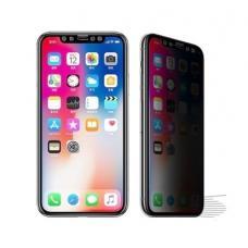 Защитное стекло Full Screen Privacy для iPhone XR (без упаковки) (black)