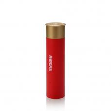 Внешний АКБ REMAX Shell RPL-18 2500 mAh 1xUSB, 1А, Li-Ion (красный)