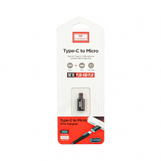 Адаптер Earldom ET-TC08 USB Type-C to Micro USB OTG Adapter (черный)