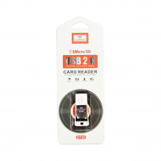Картридер Earldom ET-OT25 Micro USB Card Reader (черный)