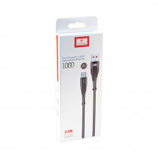 USB кабель Earldom EC-061M Micro USB 1 метр (черный)