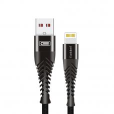 USB кабель Earldom EC-061I Apple 8 pin 1 метр (черный)