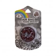 Держатель для смартфона AIR BAG Cell Phone Bracket (красный алмаз)
