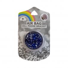 Держатель для смартфона AIR BAG Cell Phone Bracket (темно-синий алмаз)