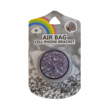 Держатель для смартфона AIR BAG Cell Phone Bracket (розовый алмаз)
