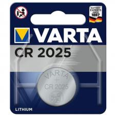 Литиевый элемент питания Varta ELECTRONICS CR2025 BL1 Lithium 3V