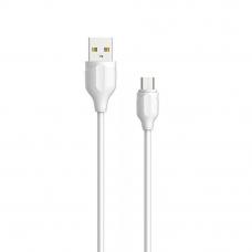 USB кабель LDNIO LS371 TC разъем USB Type-C (белый/коробка)