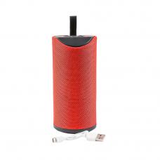 Колонка беспроводная Bluetooth TG113 MicroSD/USB/AUX/FM (красная)