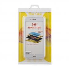 Защитная крышка 360? + стекло для iPhone 6/6s (белая  блистер)