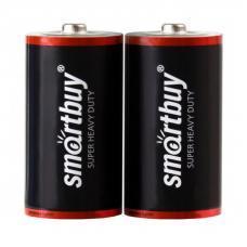 Батарейка солевая Smartbuy R14 2шт в пленке