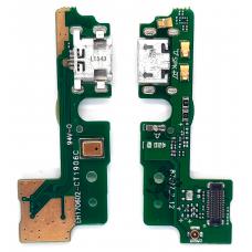 Шлейф зарядки Huawei Honor 6A (DLI-TL20) микрофон