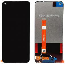 Дисплей с тачскрином Realme 6 / OPPO A52 / OPPO A72 черный оригинал