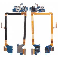 Шлейф зарядки LG D802 / разъем гарнитуры / микрофон