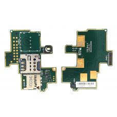 Шлейф Sim-держателя Sony Xperia M C1905