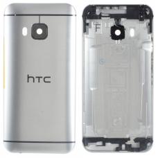 Задняя крышка/корпус HTC One M9 серебряный