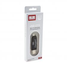 Картридер Earldom ET-OT05 USB + OTG Card Reader (черный)