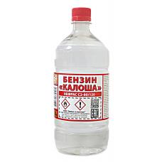 Растворитель-бензин Калоша (Нефрас С2-80/120) ТУ РБ бутылка ПЭТ-1.0 л ( 0.7 кг )
