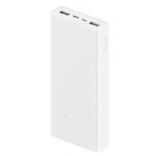 Внешний аккумулятор Xiaomi Power Bank 3 (PLM18ZM) 20000 mAh, USB-C/Micro-USB (white)