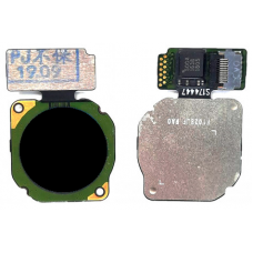 Сканер отпечатка пальца Huawei P Smart 2019/P20 Lite/Honor 8x/9 Lite/10 Lite/Nova 2i черный
