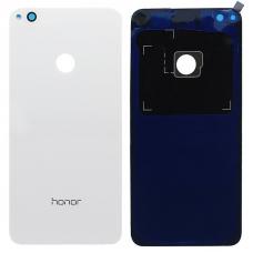 Задняя крышка Huawei Honor 8 Lite (PRA-TL10)/ P8 Lite 2017 (PRA-LX1) белая