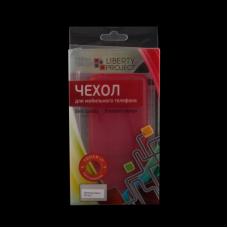 Защитная крышка для Samsung G800F Galaxy S5 mini 0,4 мм (красная матовая коробка)