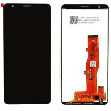 Дисплей с тачскрином ZTE Blade A3 2020 черный оригинал