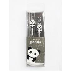Наушники PD-100 (панда) черный (упаковка блистер)