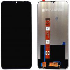 Дисплей с тачскрином OPPO A15/OPPO A15S черный