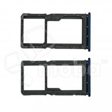 Контейнер SIM для Xiaomi Redmi Note 7/Note 7 Pro Синий