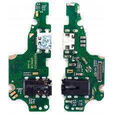 Шлейф зарядки Huawei Nova 2i/ Mate 10 Lite (RNE-L21) микрофон