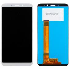 Дисплей с тачскрином Meizu M6S белый