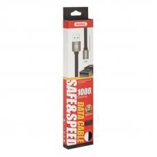 USB кабель REMAX Kingkong Series Cable RC-015i Apple Lightning 8-pin (черный)