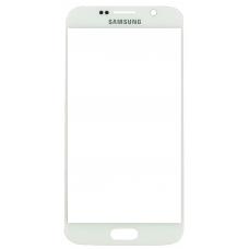 Стекло для дисплея Samsung Galaxy S6 SM-G920F белое