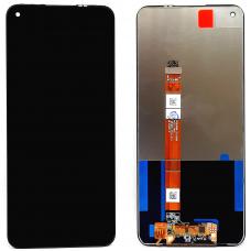 Дисплей с тачскрином OPPO A53 черный