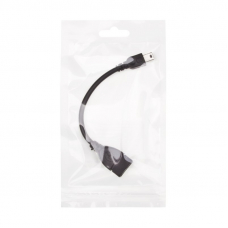 OTG Кабель USB (f) - mini USB (m) (черный, европакет)