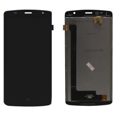Дисплей с тачскрином ZTE Blade L5 (T520) черный