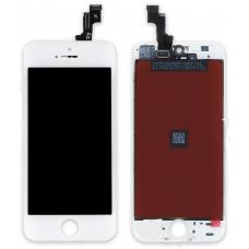 Дисплей с тачскрином для iPhone 5S/ iPhone SE белый AAA