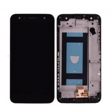 Дисплей с тачскрином LG X Power 2 (M320) черный в рамке оригинал