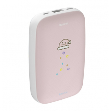 Внешний аккумулятор с функцией подогрева рук Baseus Power Bank Mini Q Hand Warmer M25N 10000 mah (PPALL-CXQ03, PPALL-CXQ04) (pink)