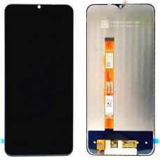 Дисплей с тачскрином для Vivo Y20 черный оригинал