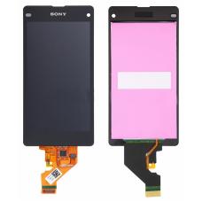 Дисплей с тачскрином Sony Xperia Z1 compact (D5503) черный
