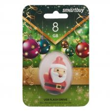 USB Flash накопитель SmartBuy Новогодняя серия Santa S 8Гб USB 2.0