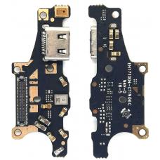 Шлейф зарядки Huawei Mate 10 (ALP-L09/ ALP-L29/ ALP-L00) микрофон