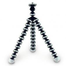 Гибкий штатив - трипод средний (23х5х5см) (black)