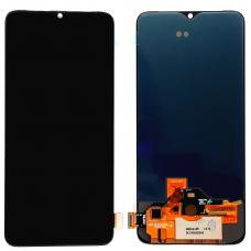 Дисплей с тачскрином OnePlus 7 черный OLED