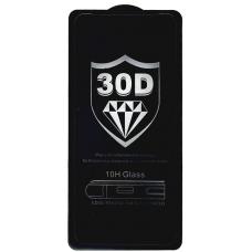 Защитное стекло полное для Huawei Honor 30S / Nova 7 SE / Y9A черное